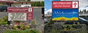 Grace Lutheran Church LED Sign